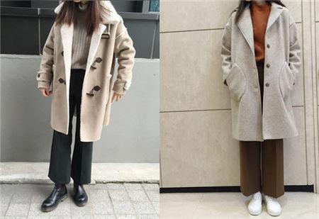 呢子大衣巧搭配 穿出时尚与个性