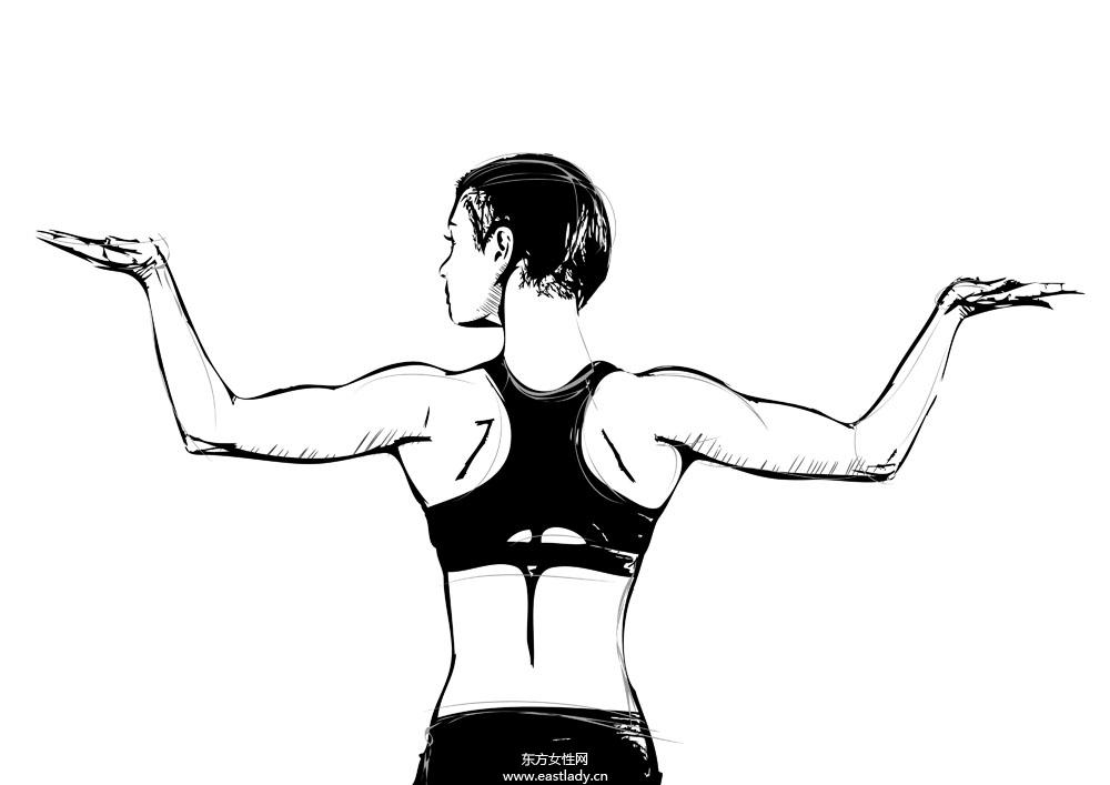 8个瑜伽减肥动作 让你轻松瘦身