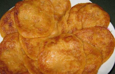 传统的汉族甜点 红薯饼的做法大全