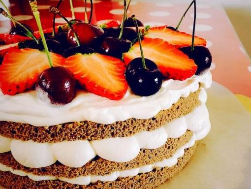 生日蛋糕做法  好看又美味的生日蛋糕原来是这样做的