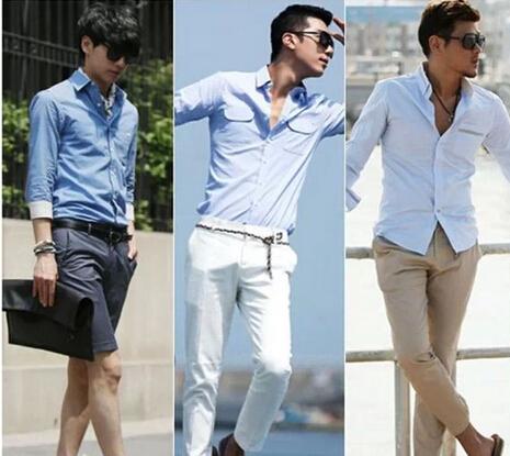 春季男士服装搭配款式多样