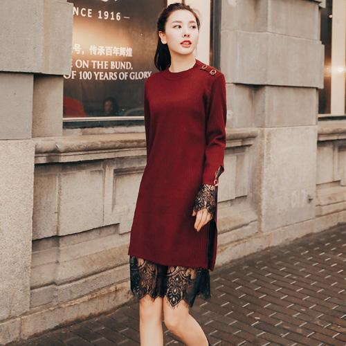 时髦界的宠儿针织连衣裙的搭配技巧你知道吗