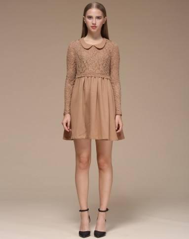 女士长袖连衣裙这样搭配更时尚