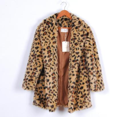 豹纹皮草 毛皮制成衣服来蔽寒