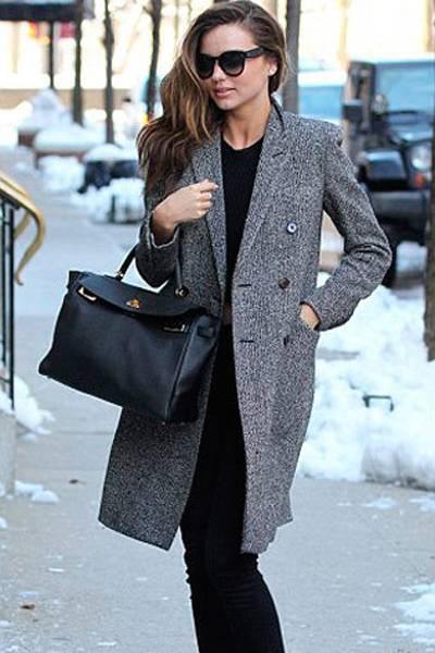 时尚女装冬季外套搭配 冬天最IN穿搭法