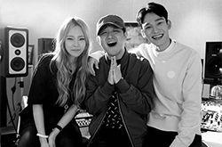 EXO成员CHEN搭档Heize演绎浪