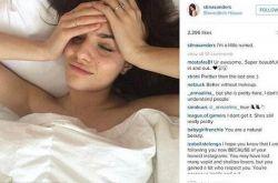 24岁网红模特分享 丑照 惨遭公司解约