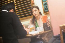 日本女演员低调节俭 与丈夫在平价饭店约会