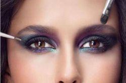 韩妆眼影画法步骤介绍