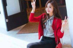 大红毛衣搭配推荐 怎么搭都是美美的