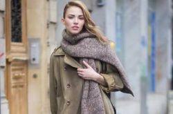 既时尚又保暖的冬季围巾搭配 赶紧get起来