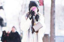 下雪天穿什么最好看 白色冬装正当道