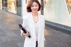 2016韩版小西装搭配 穿出优雅知性气质
