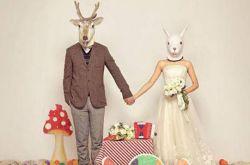 可爱童话风婚纱照赏析 婚纱礼服应该怎么选
