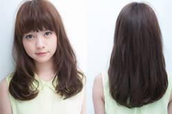 甜美系中长发发型推荐 完美演绎清纯甜美女神范儿