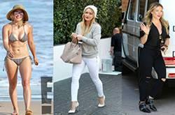 看胖女星们示范冬季服装搭配经 学会了你也魅力四射