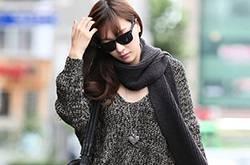 韩系时尚宽松毛衣 胖MM显瘦的法宝