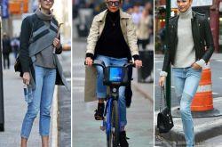 针织衫外套怎么搭配 欧美街头最常见穿搭推荐