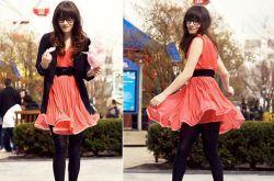罗马高跟鞋搭配连衣裙 给你眼前一亮的感觉