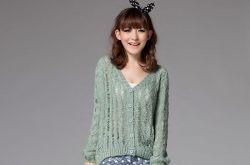 针织衫怎么搭配 韩国街头最流行的搭配方式推荐