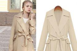风衣外套怎么穿最好看 欧美街头最常见的潮流穿法