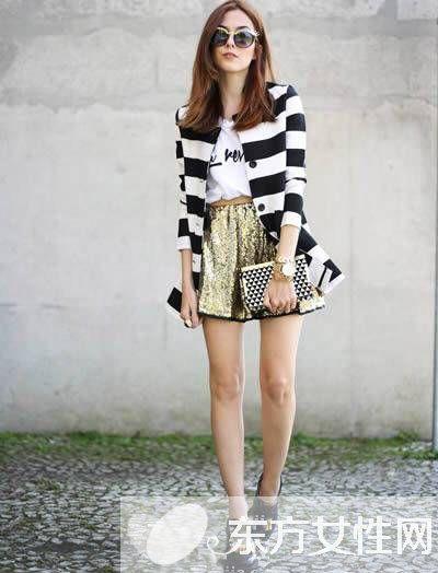 高个女生时尚穿衣搭配圣经 时尚博主完美演绎大长腿