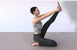 简单六式瑜伽瘦腿动作 轻松学起