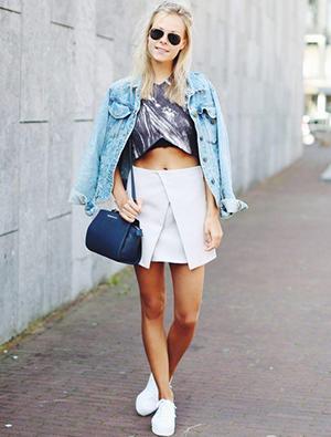 时尚小白鞋怎么搭配最潮 明星们都酷爱这么穿哦
