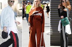 这个秋天轻装上阵 运动裤也能穿的很时髦