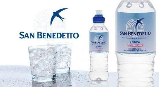 欧洲贵族常喝的水:SAN BENEDETTO