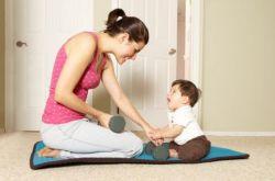 产后瑜伽5式减肥法 瘦身育儿两不误