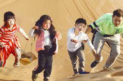 爸爸去哪儿第四季最新一期 蔡国庆董力沙漠遇险