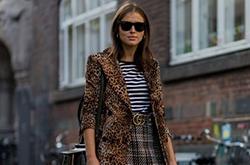 看名模潮人如何演绎豹纹时尚穿搭术