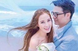 徐子淇再拍婚纱照 纪念与老公李家诚结婚10周年
