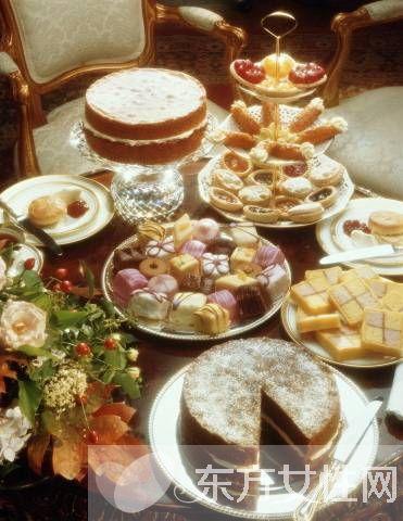 下午茶甜点图集欣赏 揭秘与下午茶有关的4个礼仪