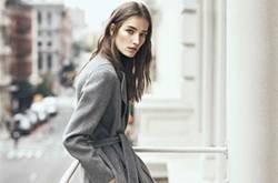 灰色大衣时尚搭配 时髦感不只一点点