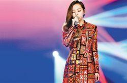 张靓颖跨年演唱会 英单首唱劲歌热舞嗨翻全场