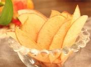 儿童水果小零食烤苹果片