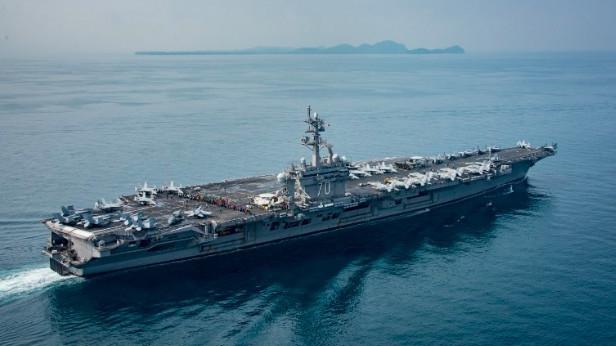 美派往朝鲜的航母开错方向?五角大楼白宫沟通