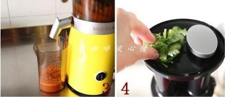 双色菜汁花卷的做法步骤3-4