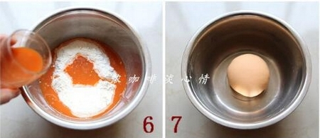 双色菜汁花卷的做法步骤6-7
