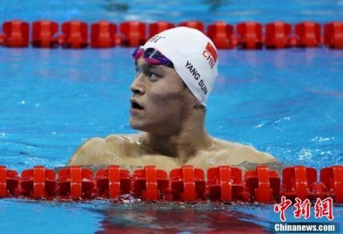 世锦赛预选赛:孙杨一人参加六项 宁泽涛缺席