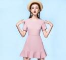 夏季粉色女装出街 2017夏季粉色女装单品