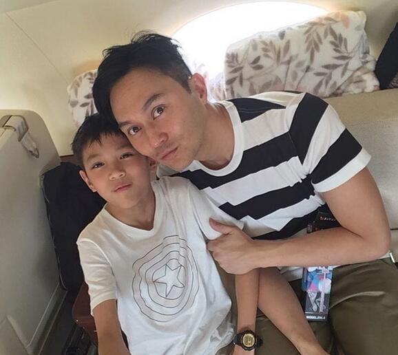 张智霖和孩子