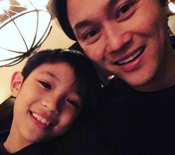 张智霖和儿子