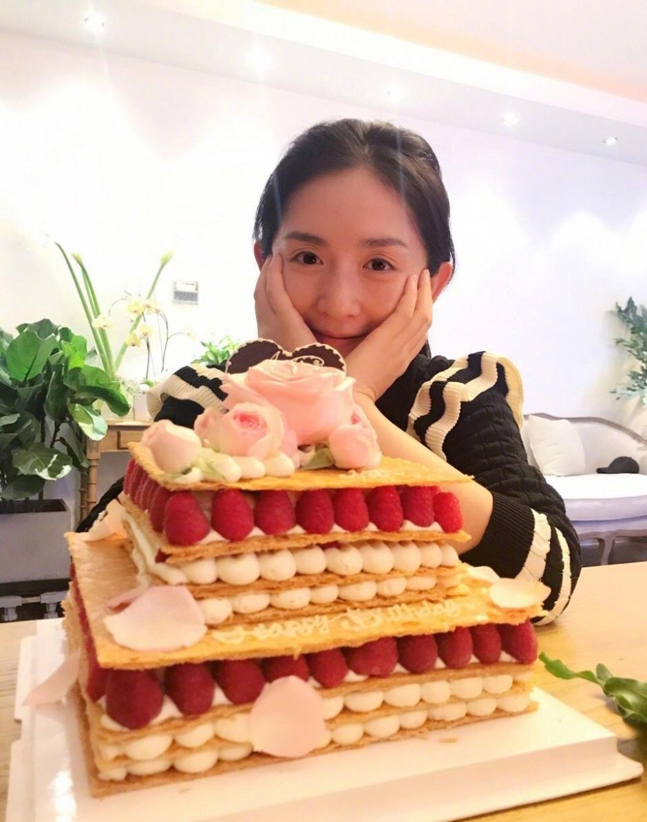 谢娜生日蛋糕
