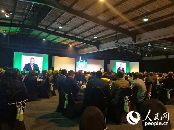 非国大党经济发展论坛举办总统晚宴