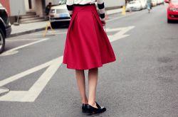 半身裙怎么搭配好看 长肉&腿型差有它都不怕