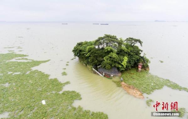 鄱阳湖水位全线超警戒