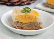 改善肠胃家常菜藕饼蒸蛋